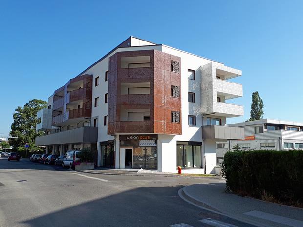 """21 nouveaux logements locatifs et 3 commerces """"LES FRONTALYS"""""""