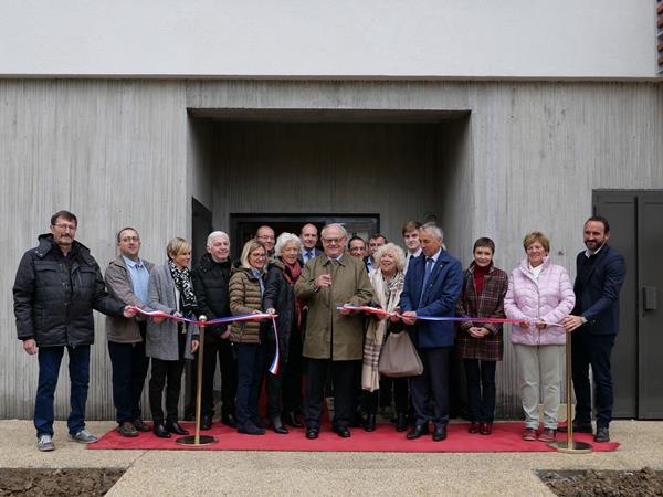 """inauguration de la """"Résidence Périès"""" à Annecy"""